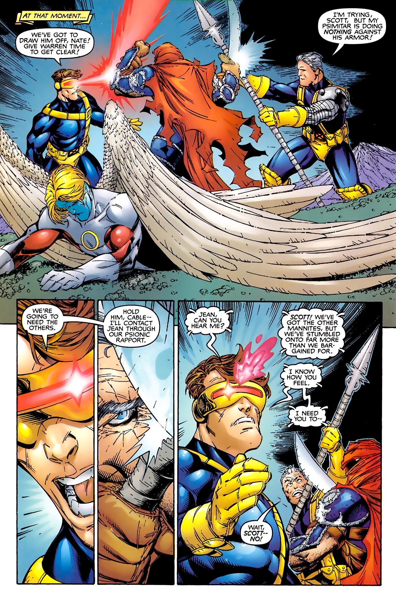 Read online Astonishing X-Men (1999) comic -  Issue #2 - 21