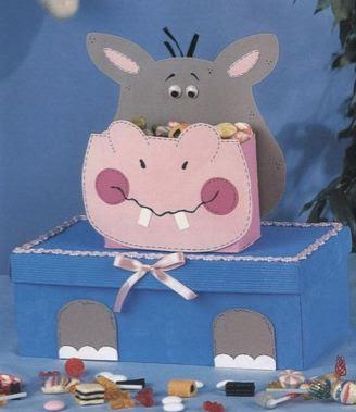Ideas para decorar cajas infantiles - Decorar una caja de zapatos para ninos ...