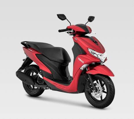 Yamaha FreeGo 125 Matte Red