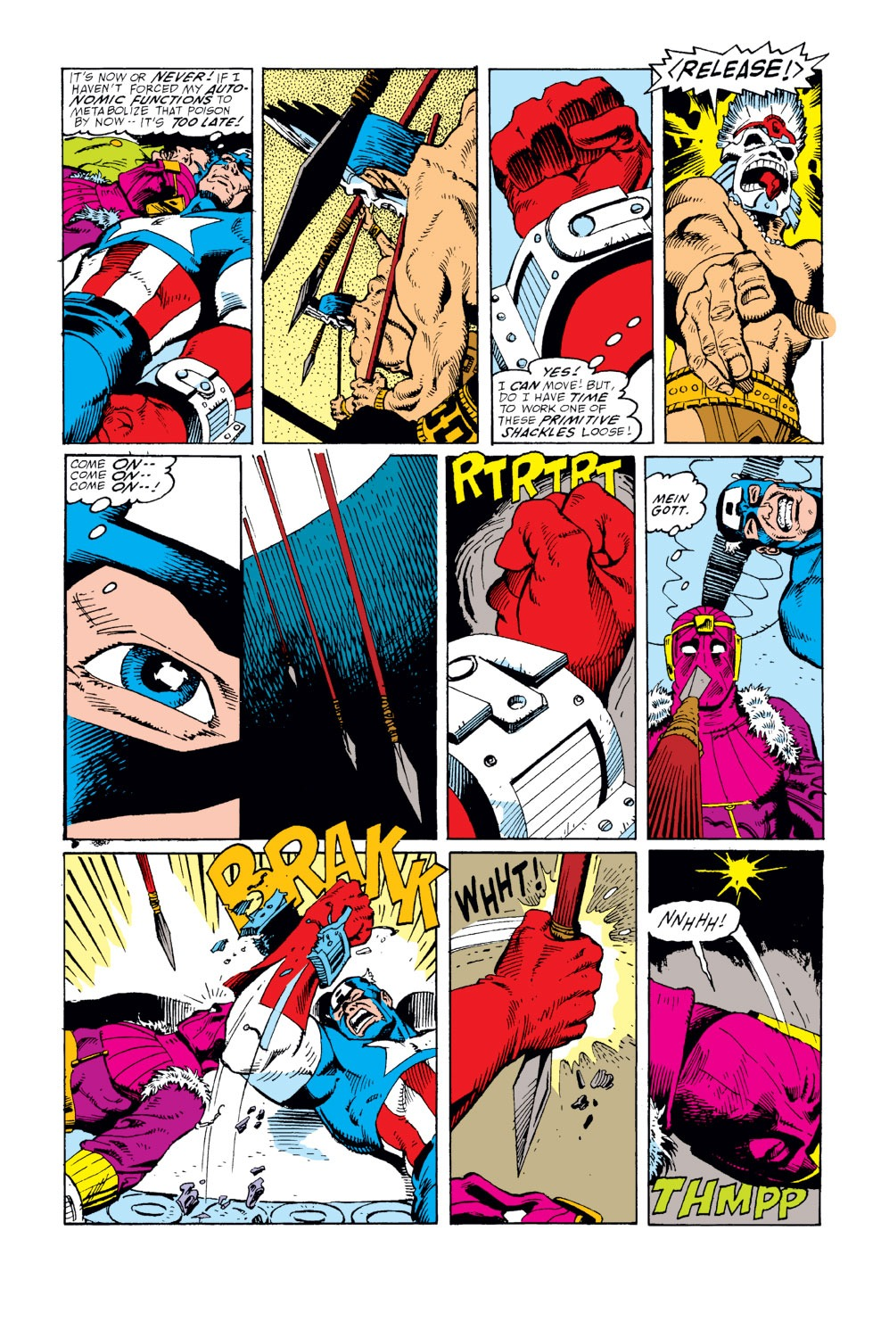 Captain America (1968) Issue #359 #292 - English 5