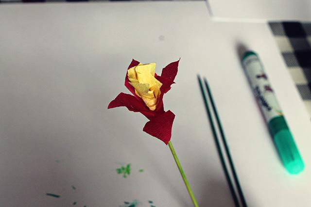 bloem knutselen kinderen