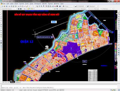 bản đồ quy hoạch phường