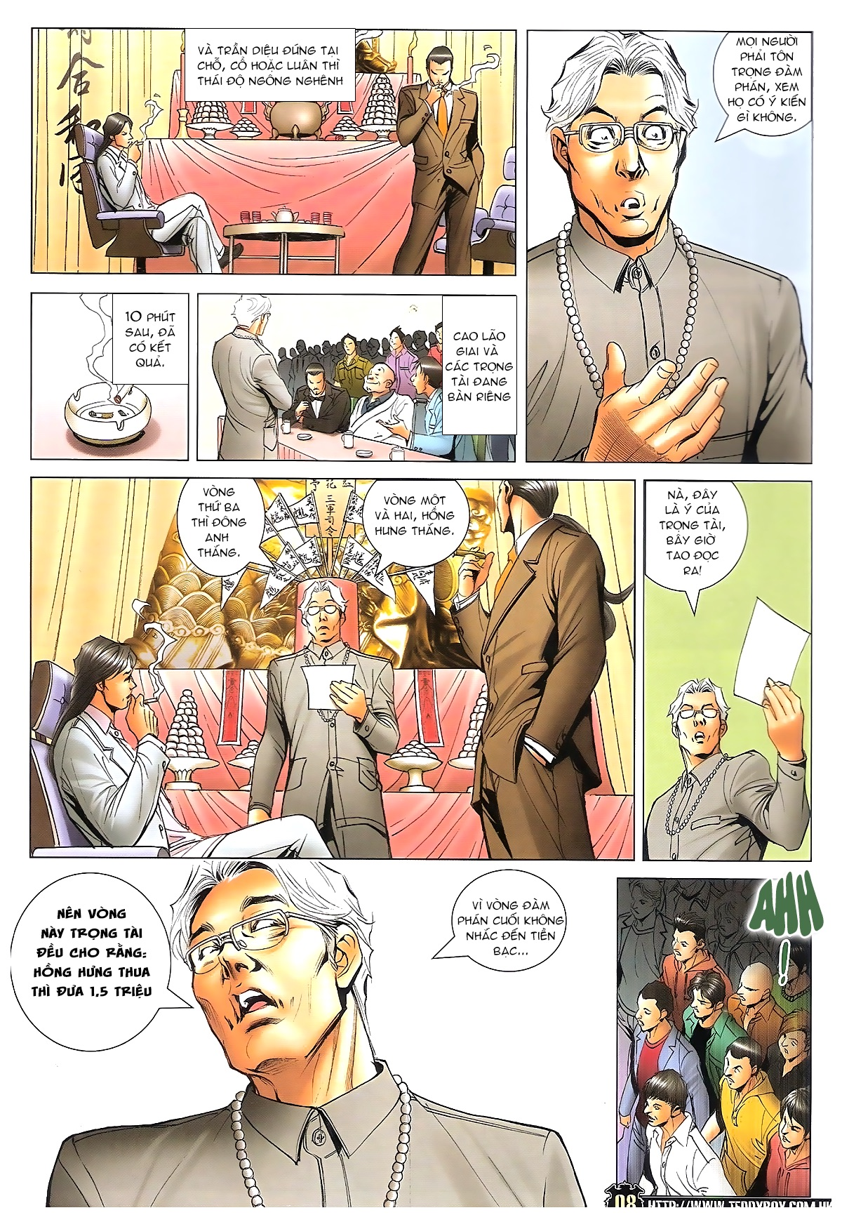 Người Trong Giang Hồ - Ngũ Hổ qui thiên - Chapter 1719: Hỏa thiêu Đông Anh - Pic 5