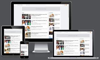 Chia sẻ Việt Blogger Template bản miễn phí