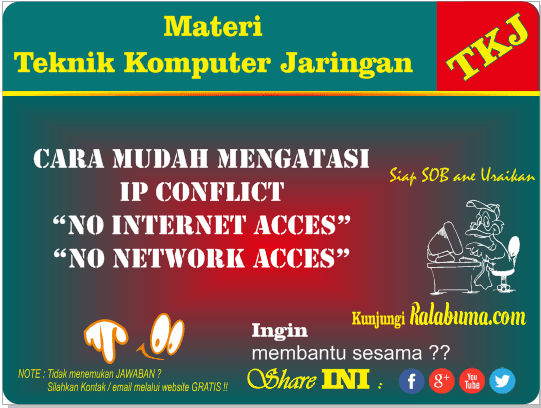 Cara Sederhana dan Ampuh Setting Ulang TCP/IP Windows
