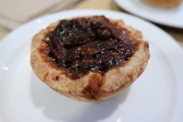 Pecan Butter Tart at Wild Flour Bakery, Banff