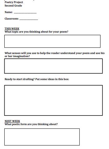 reederama second grade poets use their five senses to write poems