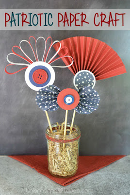 Patriotic Vase Decorations