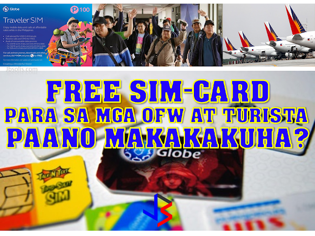 "Just ahead of the amnesty program in Saudi Arabia, and the summer vacation of many Filipinos working abroad, Philippine Airlines and Globe Telecom have joined forces to provide OFWs a service that has never been seen before. Globe started giving free Globe Traveler SIM cards to all passengers arriving in Manila from other countries. With the free SIM card, OFWs as well as tourists will be able to contact their loved ones and connect with friends. All SIM cards are equipped with unlimited calls to Globe and TM subscribers, 20 free text messages to all other networks and 15Mb mobile data valid for one day. Nikko Acosta, Senior Vice President of IBG, said ""Globe and Philippine Airlines collaborated to be of service to more Filipinos in and out of the country. Our common advocacy is delighting the international visitors and returning Filipinos by giving them a wonderful experience every time they arrive in the Philippines. As an increasing number of Filipinos fly back in the country to support their families, it is becoming more important for them to find ways to connect to their loved ones as soon as they land."" The free sim is only a promotion. Currently, the Promo period is from January 1, 2017 to June 30, 2017 only. It is available for non-Philippine residents or Overseas Filipino Workers (OFWs) only. To avail of the free sim card, you have to present your foreign passport, foreign resident card, Seaman's book, or OFW E-Card at the Globe booth in the arrival area of any airport listed below. Also, for every foreign passport, foreign resident card, Seaman's Book, or OFW E-Card shown, you are entitled to one (1) FREE LTE Traveler SIM. This means, if the whole family is vacationing, then everyone has a chance to get their own sim card, for FREE! Manila – NAIA Terminals 1, 3, and 4 Clark – Clark International Airport Cebu – Mactan-Cebu International Airport Davao – Francisco Bangoy International Airport Kalibo – Kalibo International Airport Iloilo – Iloilo International Airport Caticlan - Caticlan Jetty Port Laoag - Laoag International Airport If you are vacationing in the Philippines anytime soon, you can RESERVE your own free Globe Traveler Sim NOW. Click the image below to go to the reservation page. Getting your sim card directly from telephone companies is recommended. This will help you avoid the various sim card scams that target mostly tourists. If you want to know more about the Globe Traveler SIM, as well as their other promotions, click here."