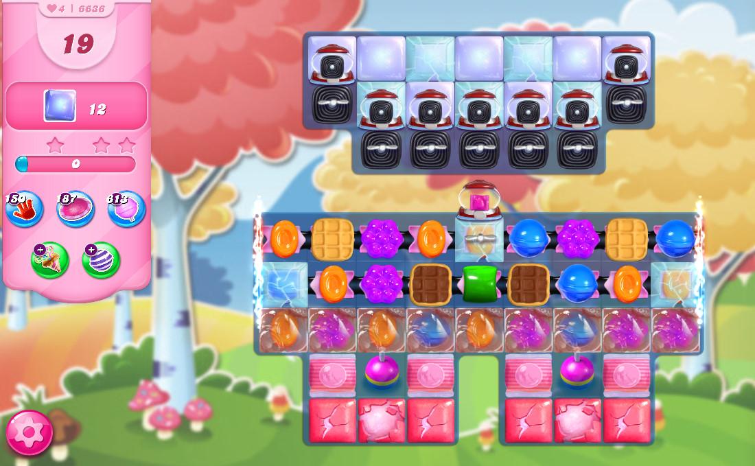 Candy Crush Saga level 6636