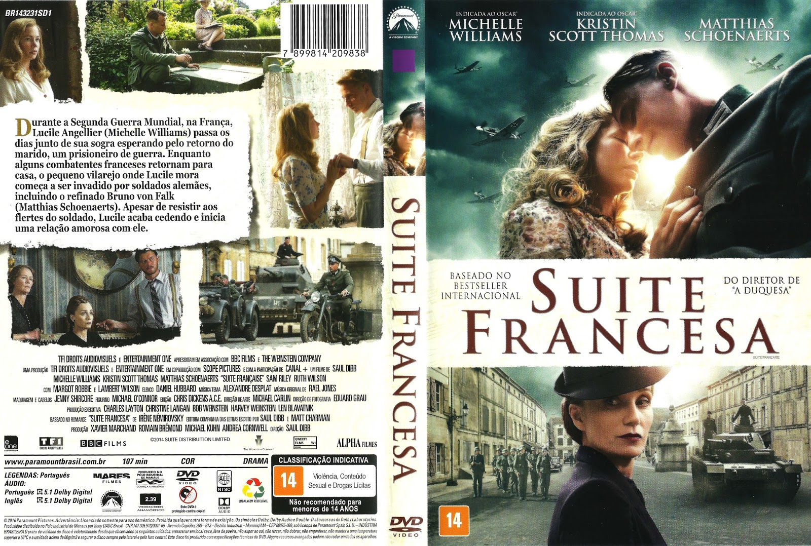 Suite Francesa BDRip XviD Dual Áudio Suite 2BFrancesa 2B  2BXANDAODOWNLOAD