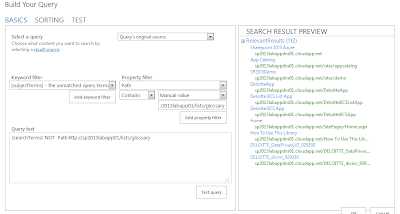 how to create query rules in sharepoint 2013