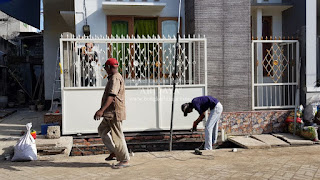 jasa pembuatan pagar rumah sederhana
