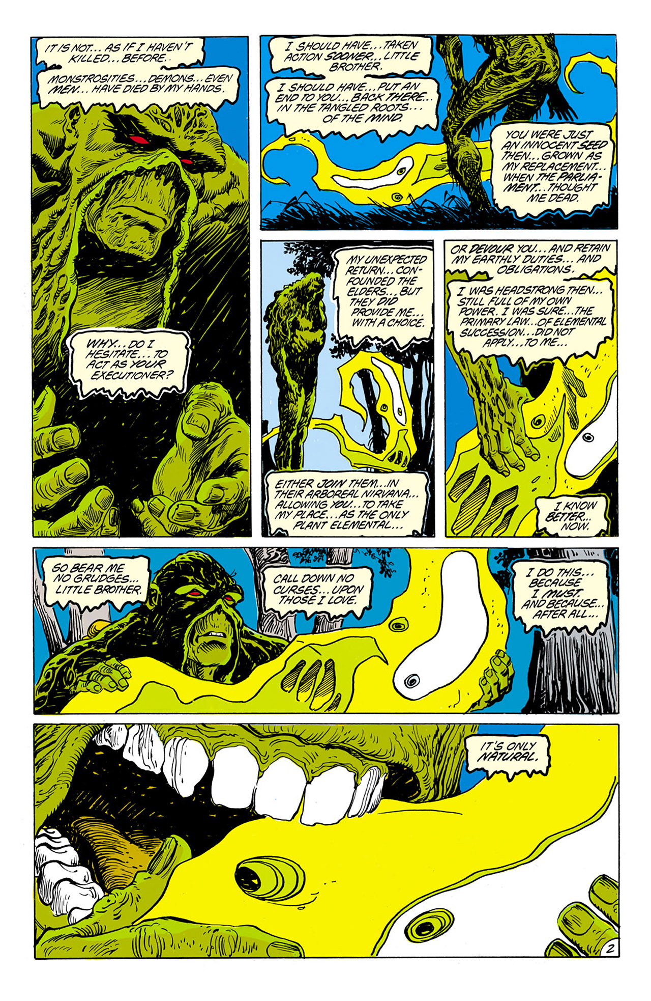 Swamp Thing (1982) Issue #75 #83 - English 3