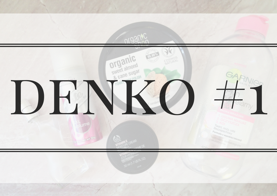 DENKO #1 | JEAN PAUL GAULTIER, THE BODY SHOP, ORGANIC SHOP, BATISTE, GARNIER