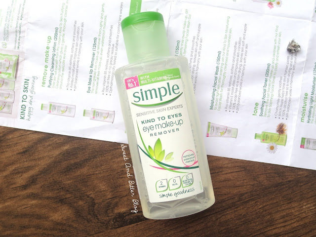 Simple Kind To Eyes Eye Make-up Remover Review
