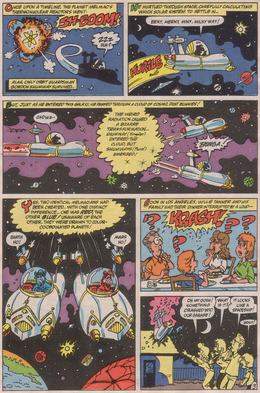 Read online ALF comic -  Issue #36 - 5