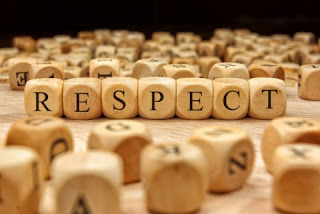 Respect as due regard for the feelings, wishes, or rights of others