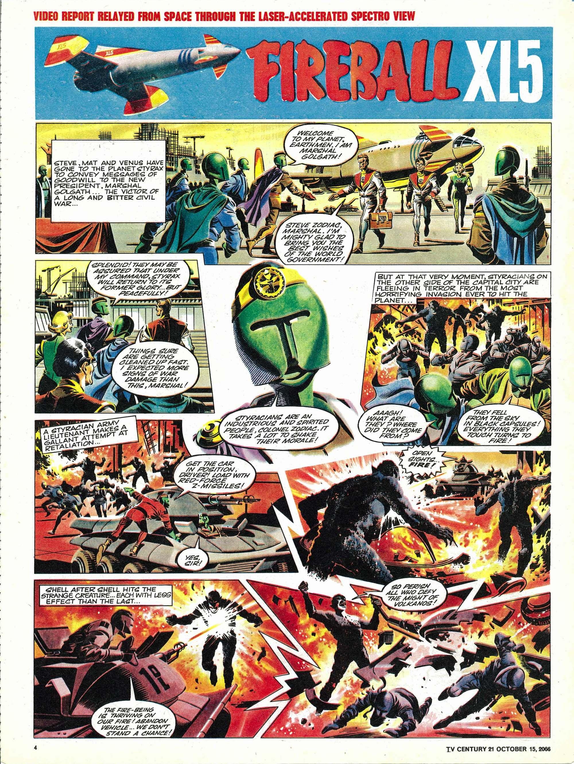 Read online TV Century 21 (TV 21) comic -  Issue #91 - 4
