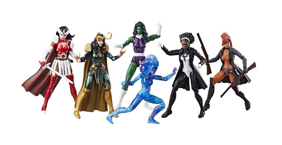 SDCC 2017 Exclusive A-Force Marvel Legends 6 Pack by Hasbro x Toys R Us  sc 1 st  The Blot Says... & The Blot Says...: SDCC 2017 Exclusive A-Force Marvel Legends 6 Pack ...
