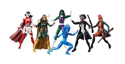 San Diego Comic-Con 2017 Exclusive A-Force Marvel Legends 6 Pack by Hasbro x Toys R Us