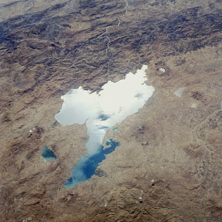 Lake Van, Turkey, as seen from space