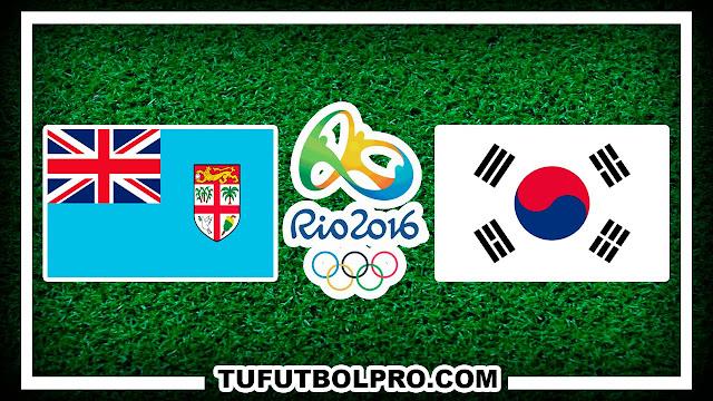 Ver Fiyi vs Corea del Sur EN VIVO Por Internet