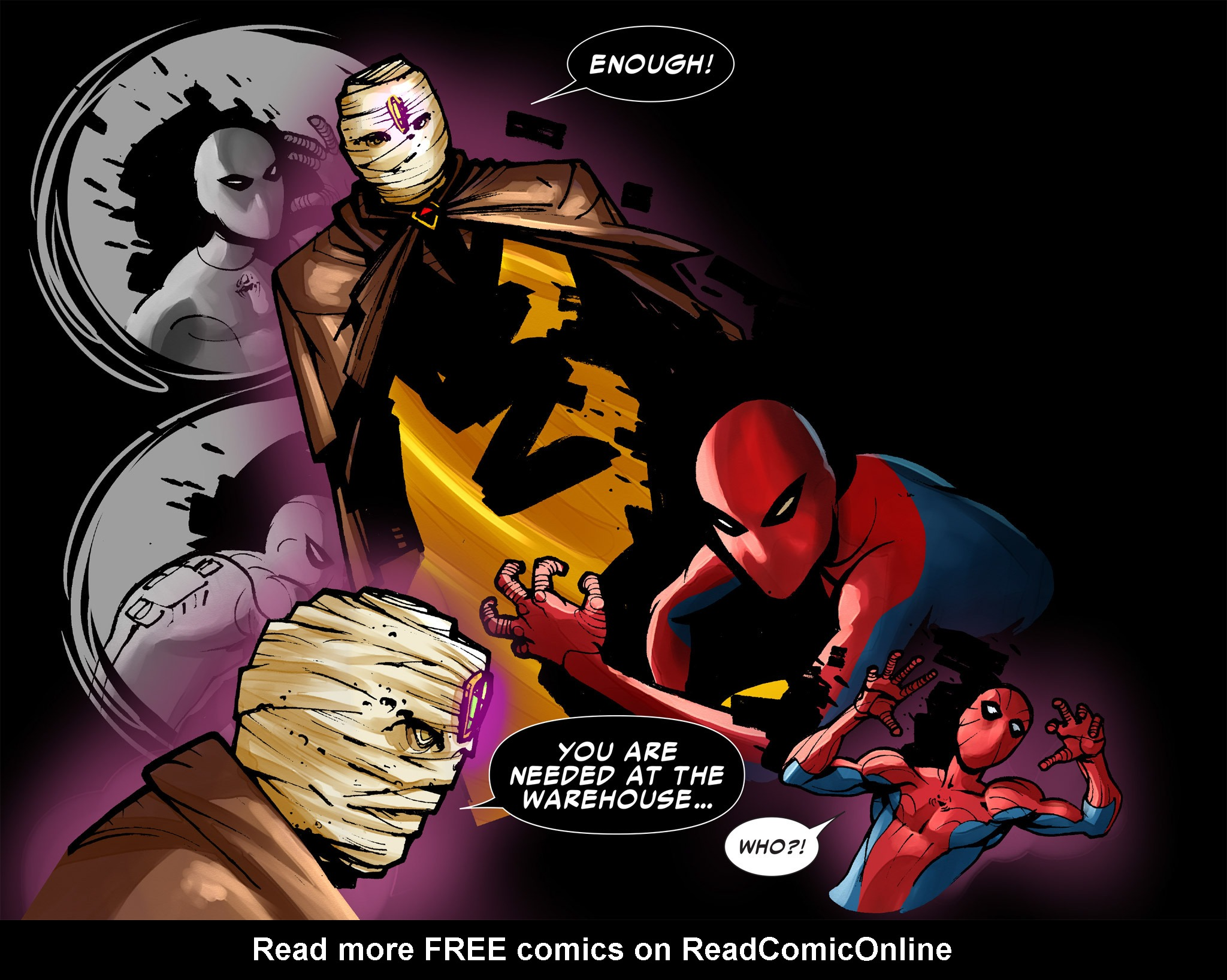 Read online Amazing Spider-Man: Who Am I? comic -  Issue # Full (Part 1) - 205