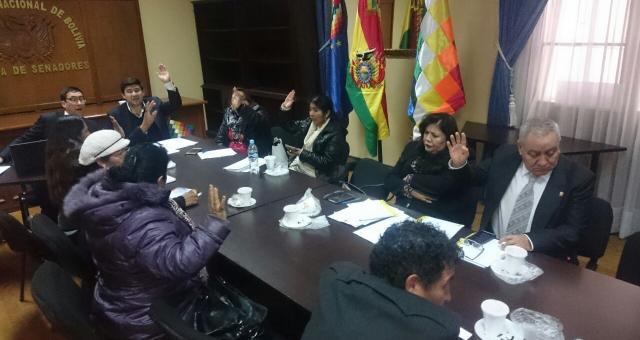 Inscripciones son efectuadas en comisión mixta de Justicia Plural y comisión de Constitución