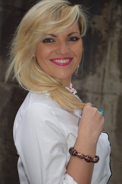 mariafelicia magno fashion blogger color block by felym fashion blogger italiane fashion blog italiani blogger italiane di moda blog di moda ragazze bionde blondie blonde hair blonde girl come truccare gli occhi azzurri blue eyes make up christmas make up make up per le feste natalizie