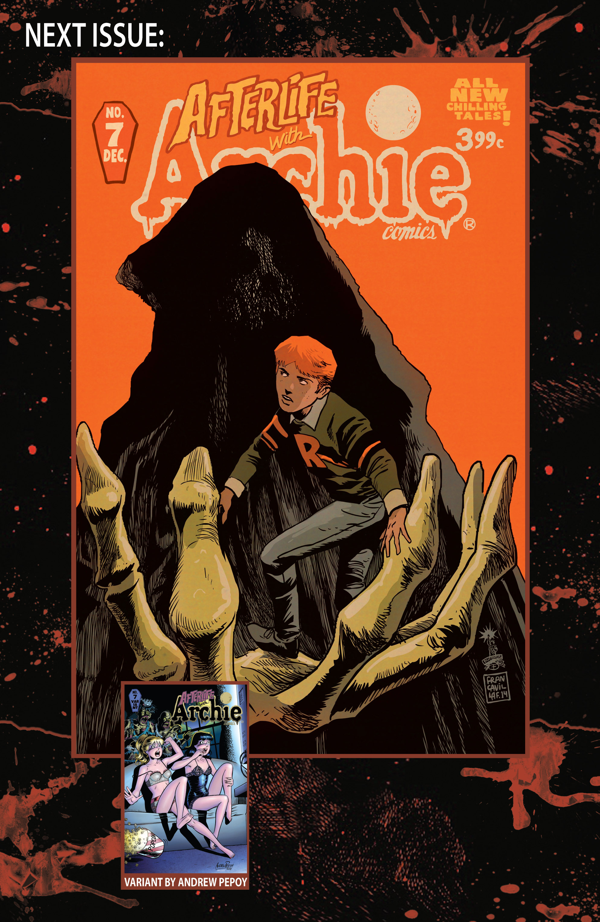 Read online Afterlife with Archie comic -  Issue #6 - 33