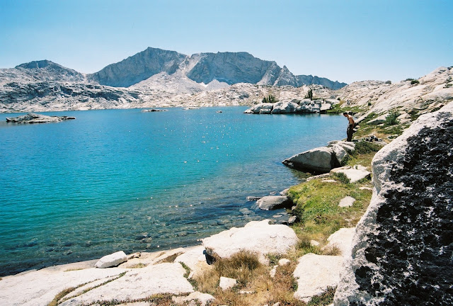 Hell for Sure Lake, Kings Canyon National Park, John Muir Wilderness California Hikes and Backpacks Outdoors Lapis Cold Lake High Sierra
