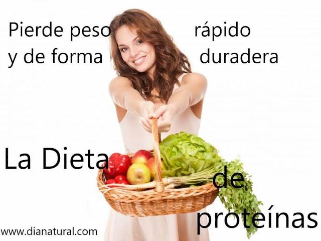 Dieta hiperproteica  bajar de peso rápidamente una semana 10 kilos