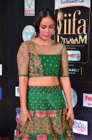 Nandita Swetha in a tight Green Choli Ghagra at IIFA Utsavam Awards March 2017 ~ 010.JPG