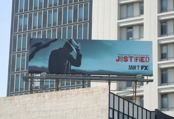Justified season 5 billboard