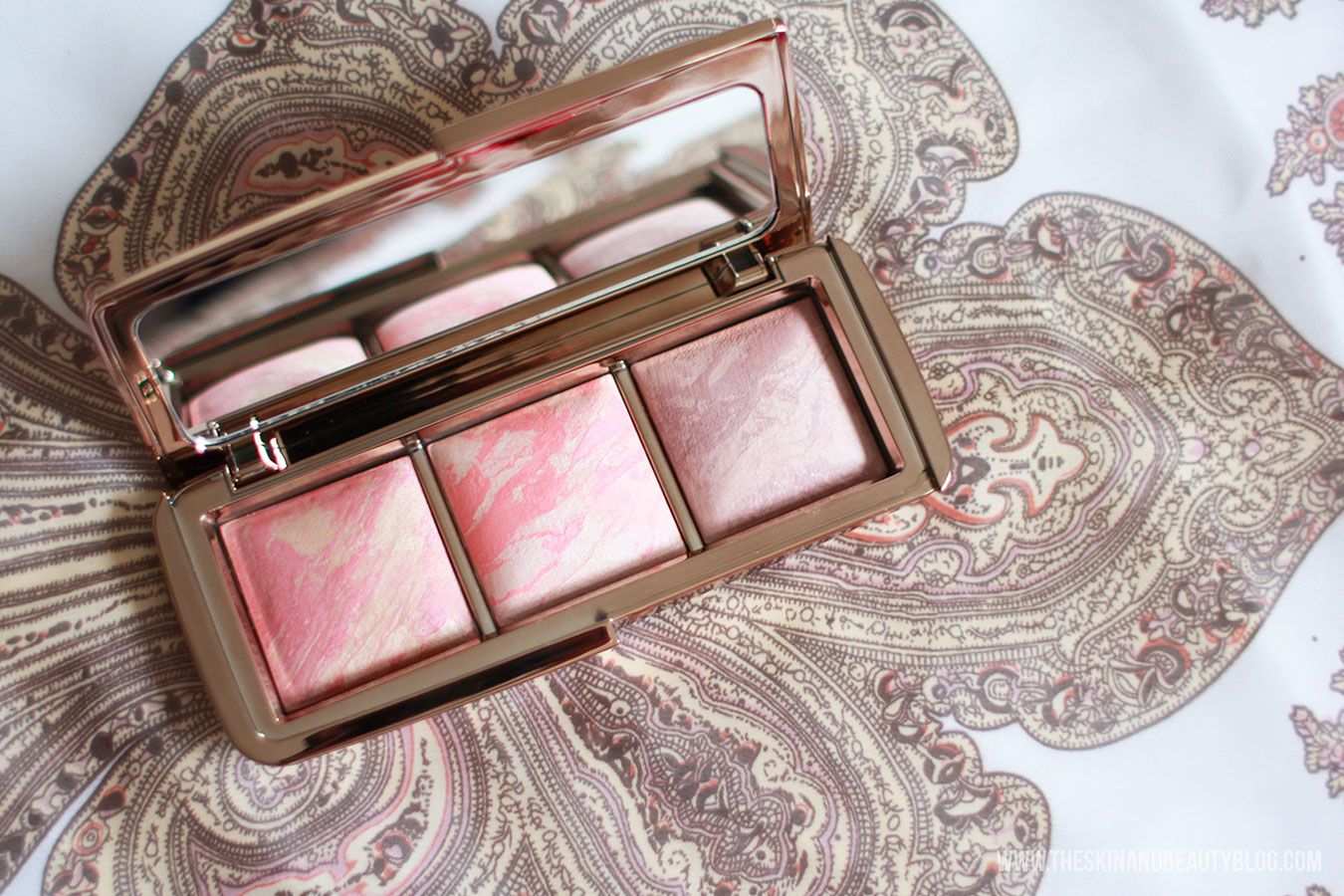Hourglass Ambient Lighting Blush Palette Review, Swatches