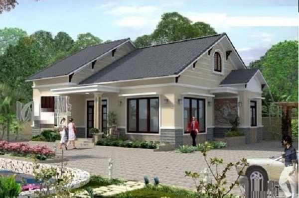 Sử dụng mái thái trong thiết kế nhà