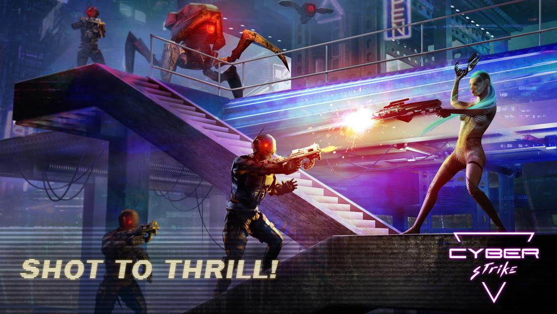 Cyber Strike Infinite Runner MOD APK terbaru