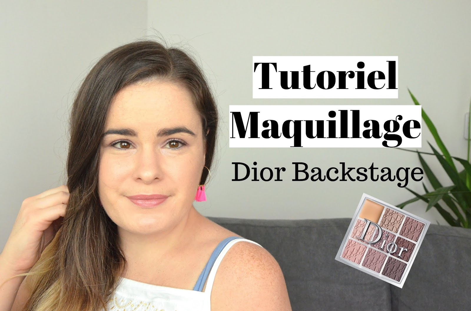tutoriel maquillage 002 cool neutrals palette dior backstage miniature youtube