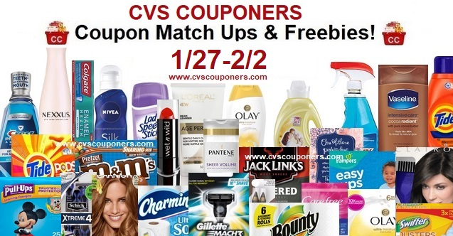 http://www.cvscouponers.com/2019/01/cvs-coupon-matchup-deals-127-22.html