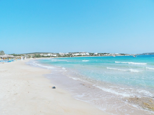 Santa Maria beach,Paros,Greece