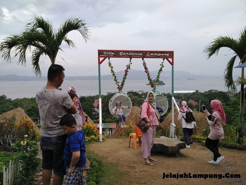 wisata baru villa gardenia lampung