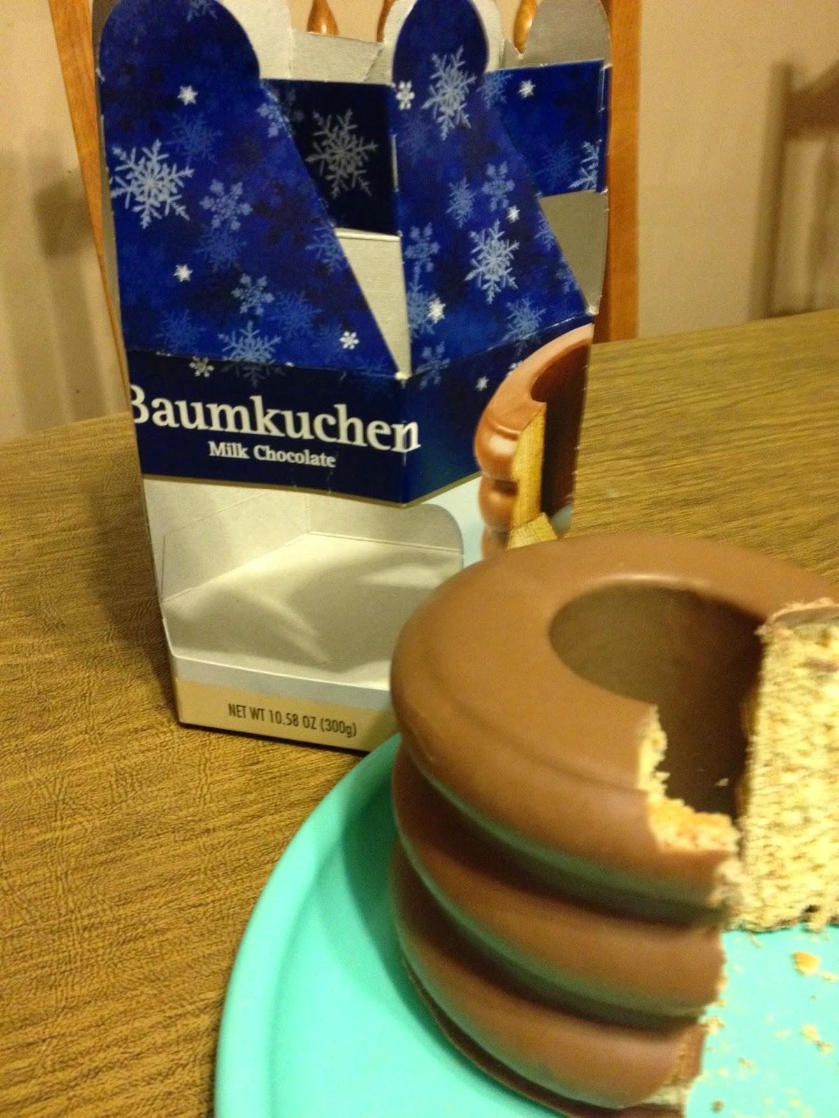 Deutsche Kche Baumkuechen from Aldi