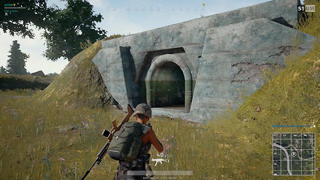 Tempat Bunker di Pubg Mobile untuk Loot