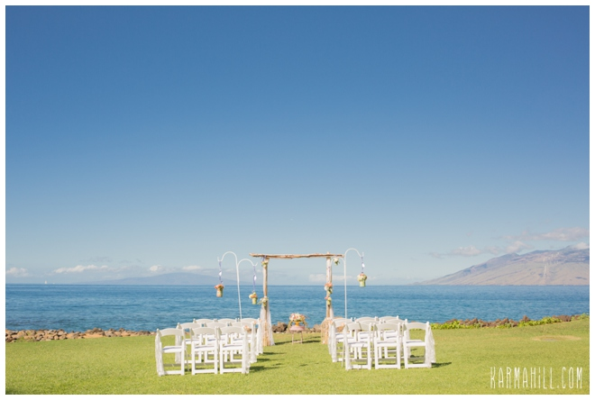 Maui wedding venues special touches
