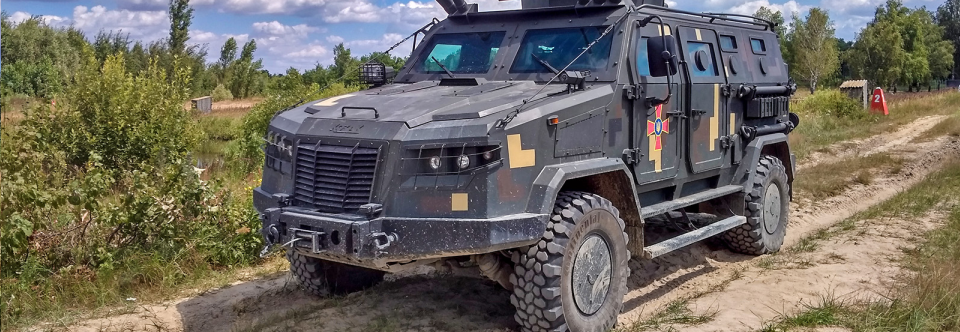 Ukraine starts work on new CBRN reconnaissance vehicle