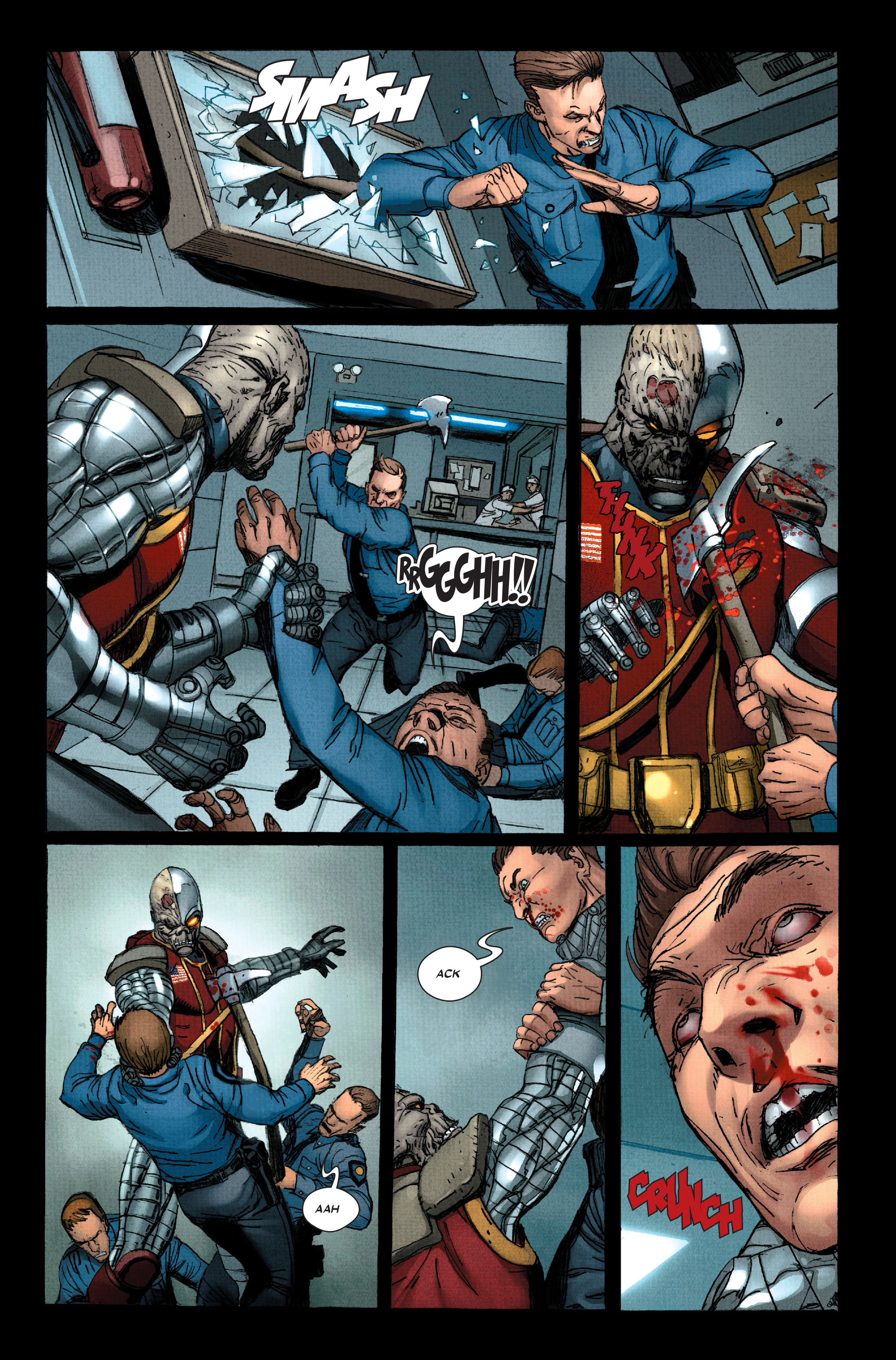 Read online Wolverine: Weapon X comic -  Issue #11 - 19