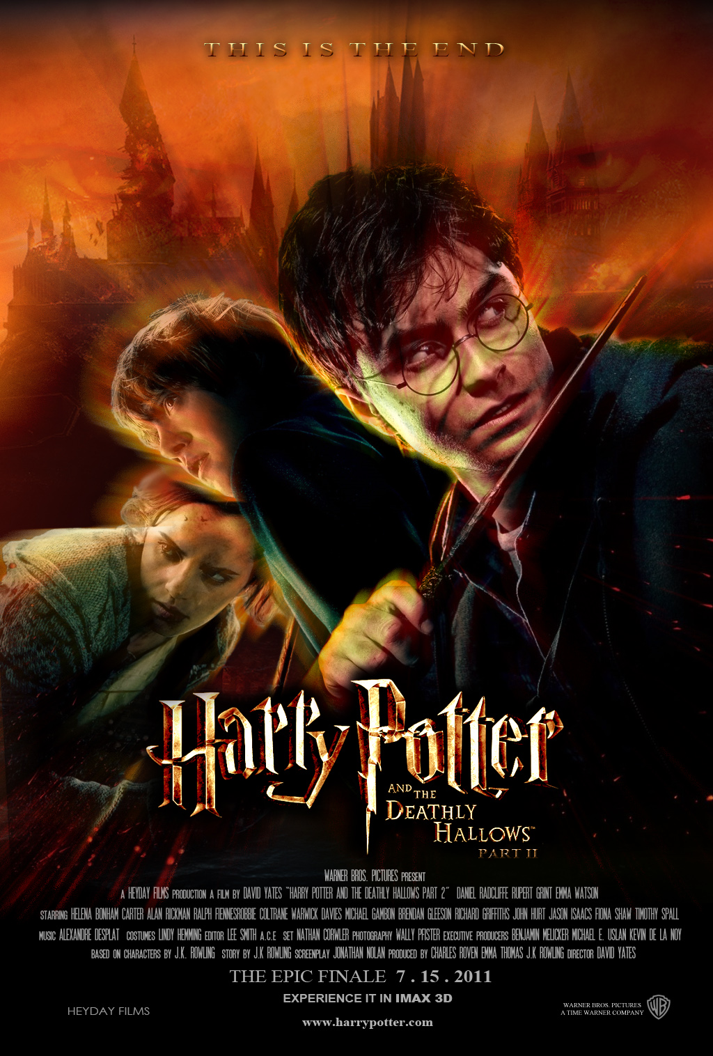 Harry Potter And The Deathly Hallows Part 2 (2011) BluRay ...  Harry Potter An...