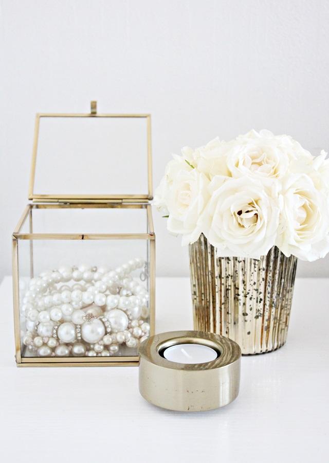 H&M Home, kulta, kultainen kynttilä