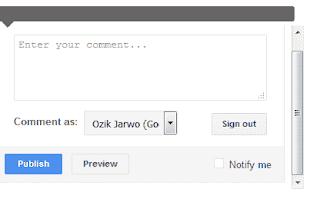 Cara Menghilangkan Scroll Pada Komentar di Blog Anda